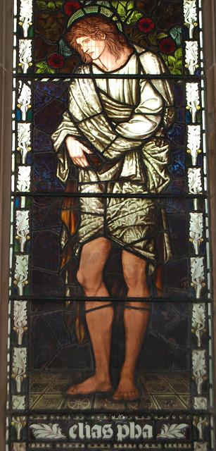 Detail of Sir Edward Burne-Jones Stained Glass, St  Martin's Church, Birmingham