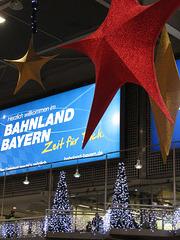 Münchner Bahnhof im Advent