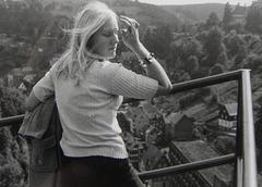 Monschau 1974 with my Wife