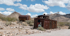 Rhyolite train depot caboose (#1083)