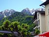 Blick in die Bergwelt bei Saint Gingolph