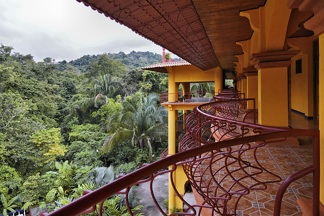 Looking Out – Hotel San Bada, Quepos, Puntarenas Province, Costa Rica