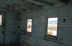Rhyolite train depot caboose (#1085)
