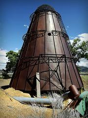 Wigwam wood burner