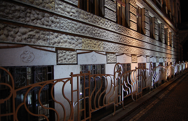 Prague Night Light