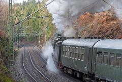 LDC-Sonderzug Richtung Freiberg