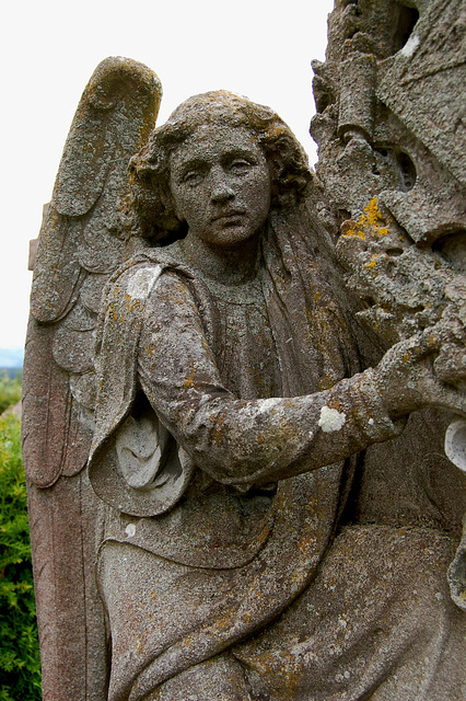Monument to the artist Louisa, Marchioness of Waterford, Ford Churchyard, Northumberland