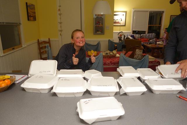 Food for ten people!