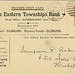 7140R. The Eastern Townships Bank [reverse]