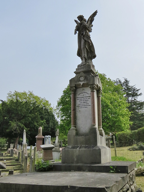 camberwell old cemetery, london