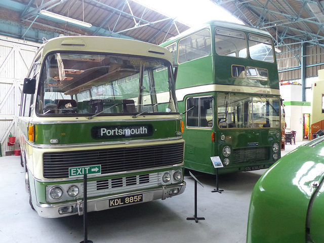 Isle of Wight Bus and Coach Museum (8) - 29 April 2015