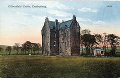 Gilbertfield Castle, Cambuslang, Lanarkshire (now a ruin)