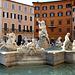 Rome - piazza Navona - la fontaine de Neptune