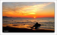 Sopelana a la puesta de sol