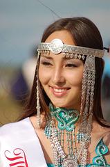 Femme Yakoute, en Sibérie