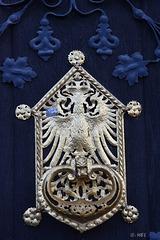 Detail:Römer-Eingangstür