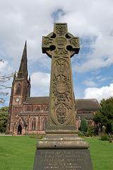 War Memorial, Hartshill Road, Hartshill, Stoke on Trent, Staffordshire