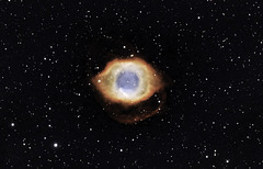 Helix Nebula NGC7293- You are right they are watching US.