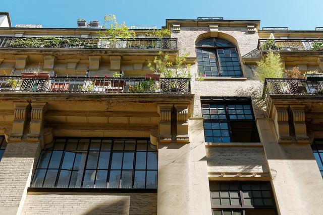 Architecture industrielle à Paris