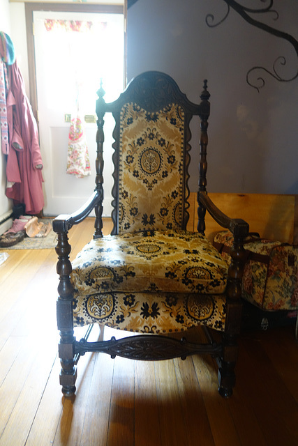 Late Elizabethan Styled Chair