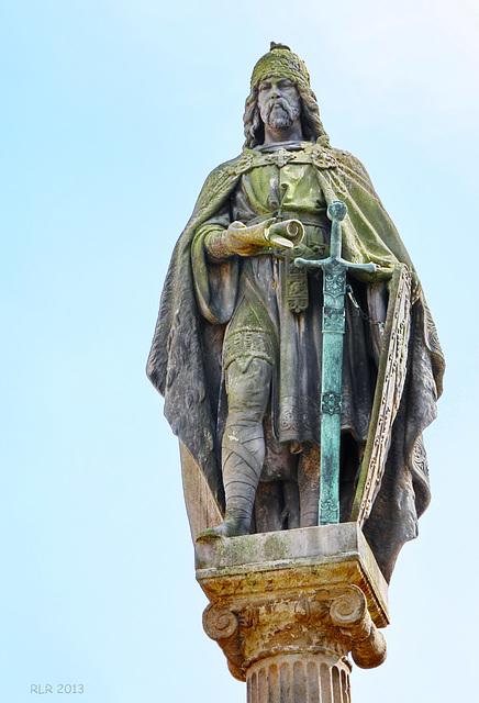 Güstrow, Borwin-Statue