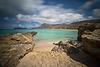 hidden beach - calm