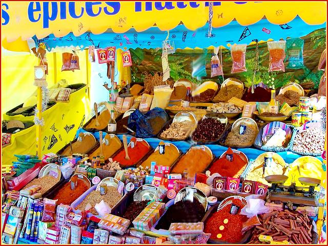 Kairouan : i popoli di lingua araba sono grandi produttori e consumatori di spezie