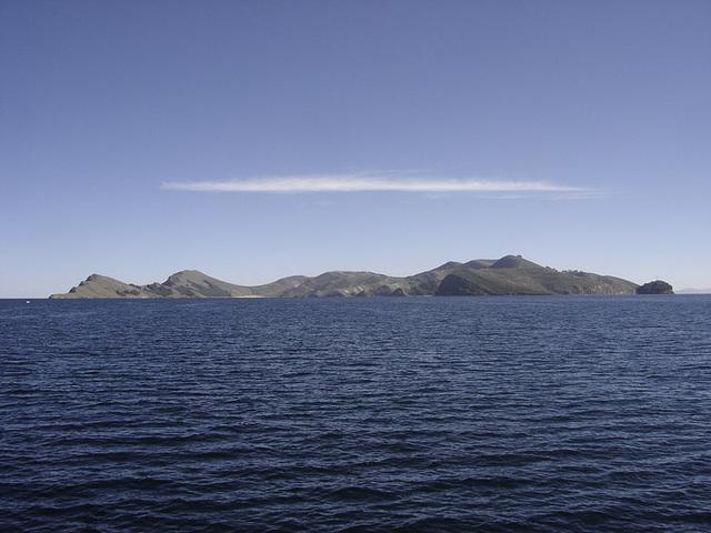 Voici l'Isla del Sol en Bolivie