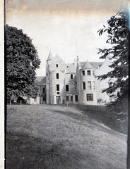 Rothiemay Castle,  and Col Forbes, Moray, Scotland, 1901 (Demolished)