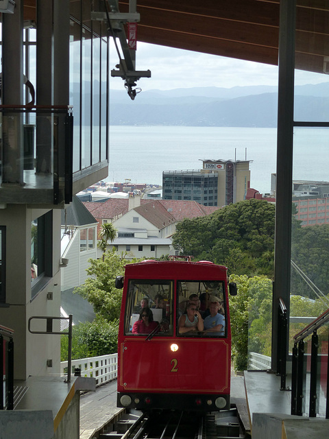 Wellington Cable Car - 27 February 2015