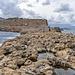 Cape Drapanos - tongue of rock