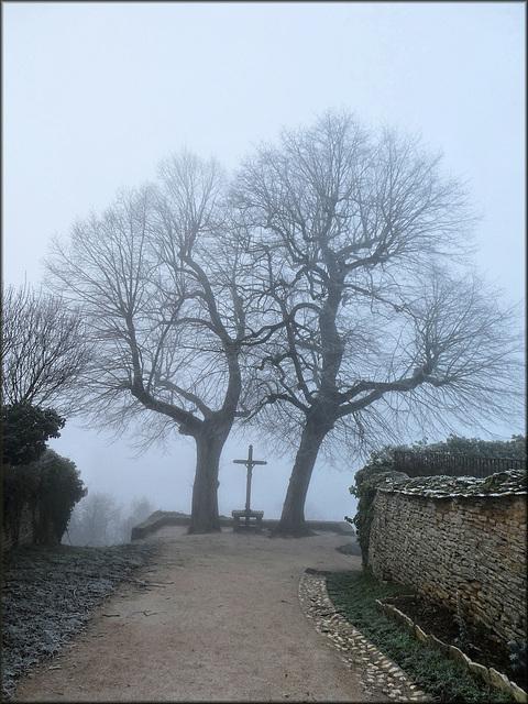 Châteauneuf-en-Auxois (21) 1 janvier 2020.