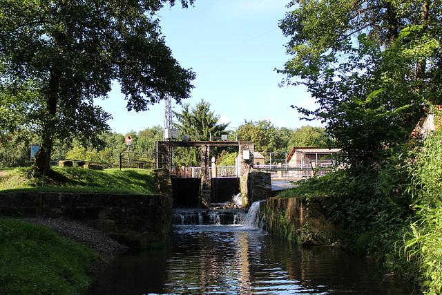 Stauwehr der Mühle
