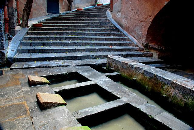 Die Treppe der Waschfrauen