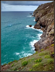 Tubby's Head, looking northwards to St Agnes' Head,