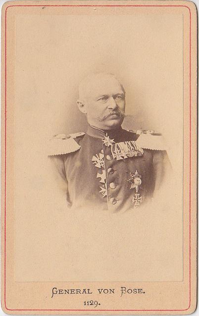 Julius Graf von Bose (1809-1894)