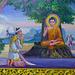 Buddha unter dem Bodhibaum