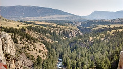 Chief Joseph's trail canyon view
