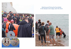 South Coast Triathlon 2021 - The last of the Olympic class swimmers - Seaford 21 8 2021