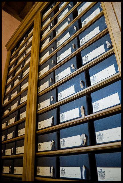 Estate archives