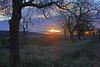 Ein Sonnenuntergang im Dezember - A December sunset