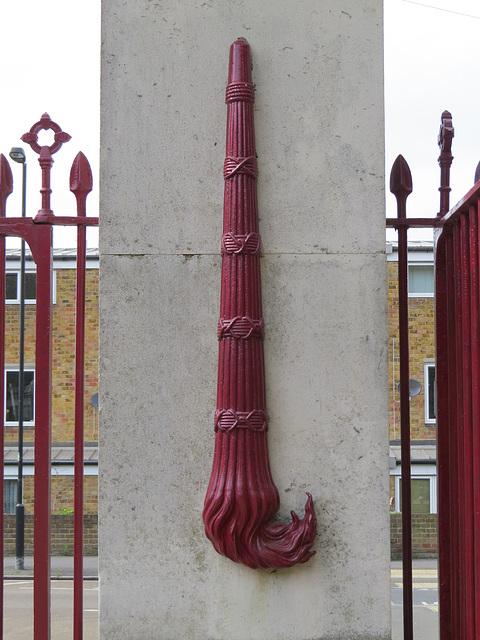 nunhead cemetery gates, london