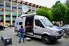 Leipzig 2017 – Mercedes-Benz communication van for the MDR