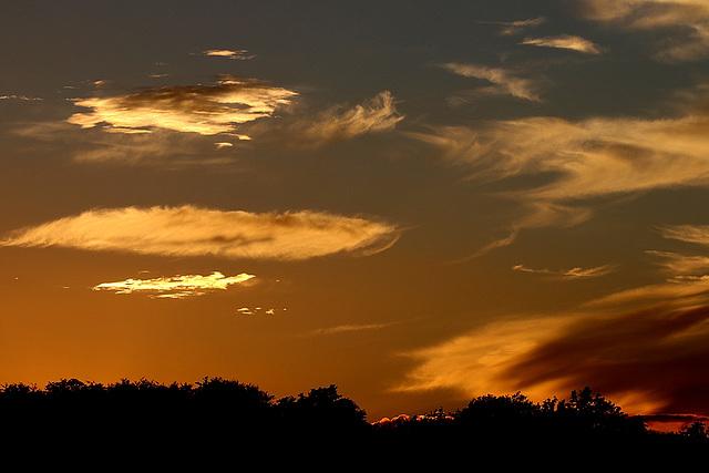 ciel d' automne .....