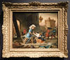 Amadis de Gaule Delivers a Damsel by Delacroix in the Metropolitan Museum of Art, January 2019