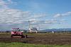 Pink bulldozer