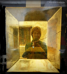 golden self-portrait