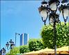Tunisi : Una sfilata di lampioni sulla via principale Ave de France