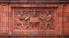 Middlewich Technical School and Free Library - detail 2