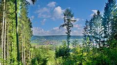 Blick zum Gaildorf